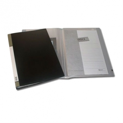 Carpeta Dunson 40 Folios A4 Negro