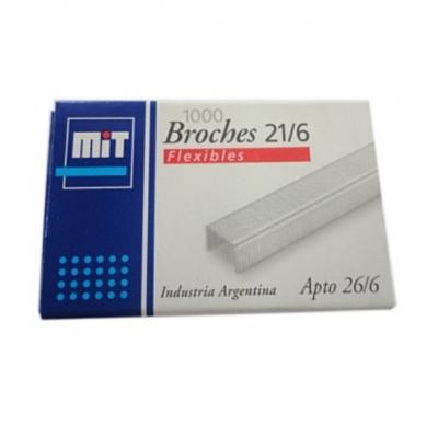 Broche Mit 21/6 X 1000 Unid.