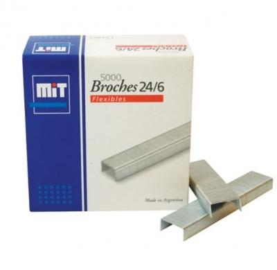Broche Mit 24/6 X 5000 Unid.