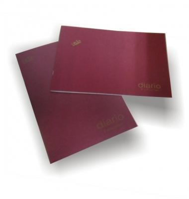 Libro De Contabilidad Rab Tapa Flexible Oficio Apaisado -3322-