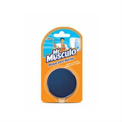 Bloque P/mochila Inodoro Mr Musculo