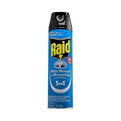 Insecticida Raid Mata Moscas Y Mosquitos