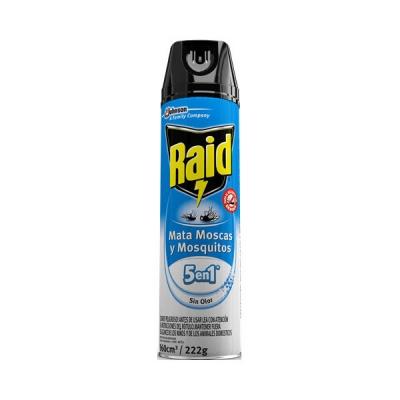 Insecticida Raid Mata Moscas Y Mosquitos Sin Olor
