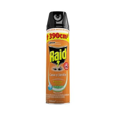 Insecticida Raid Hogar Y Jardin Mat