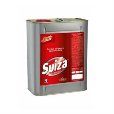 Cera Suiza Liquida Roble Oscuro X4l