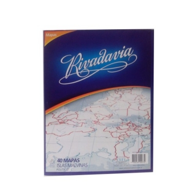 Mapa Rivadavia Nro.3 Block X 40