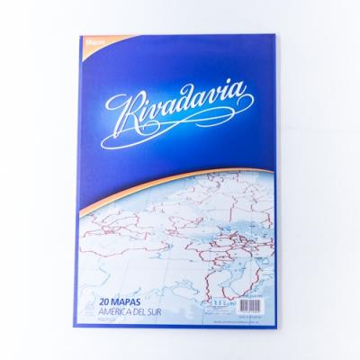 Mapa Rivadavia Nro.5 Block X 20