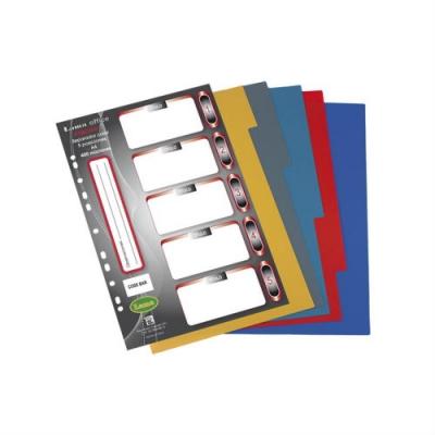 Separador Plastico Lama A4 X5