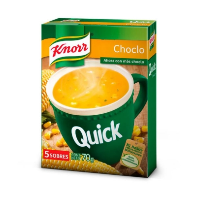 Sopa Knorr Quick Choclo X 5