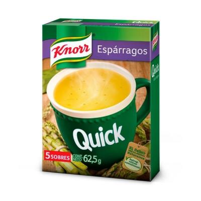 Sopa Knorr Quick Esparragos X 5