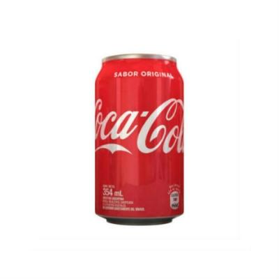 Gaseosa Coca Cola Lata