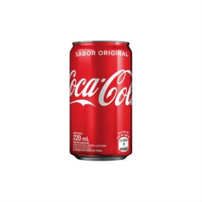 Gaseosa Coca Cola Lata Mini