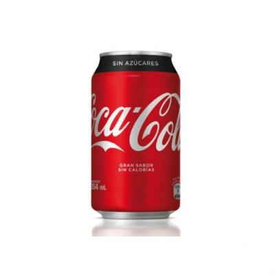 Gaseosa Coca Cola Sin Azucar Lata