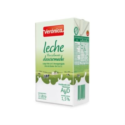 Leche Veronica Descremada 1 Litro