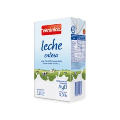 Leche Veronica Entera 1 Litro