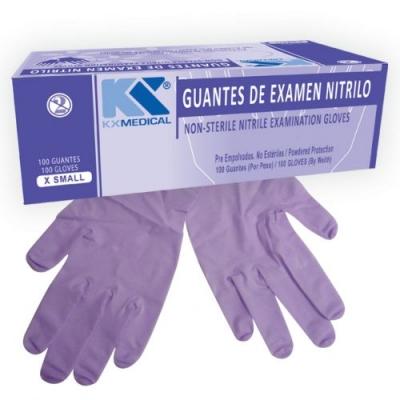 Guante Descartable De Nitrilo X100