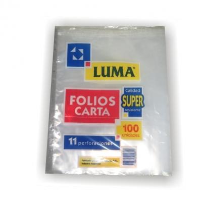 Folio Luma Carta Pesado X 100 U