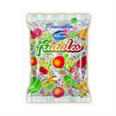 Caramelo Arcor Masticable Frutal X800g