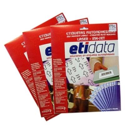 Etiq Etidata 8701 Carta 72x25.4