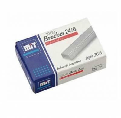 Broche Mit 24/6 X 1000 Unid.
