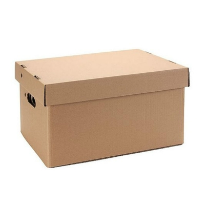 Caja Archivo Carton Tapa Y Base 42x33x25