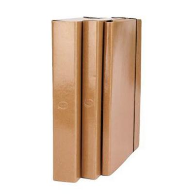 Caja Carton Plast C/elast 4cm