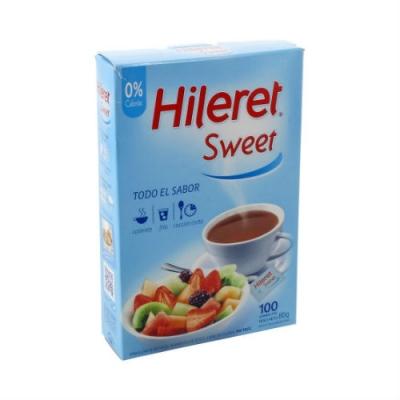Edulcorante Hileret Sweet Sobre 100