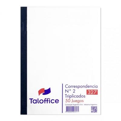 Talonario Correspondencia Nº2 Triplicado