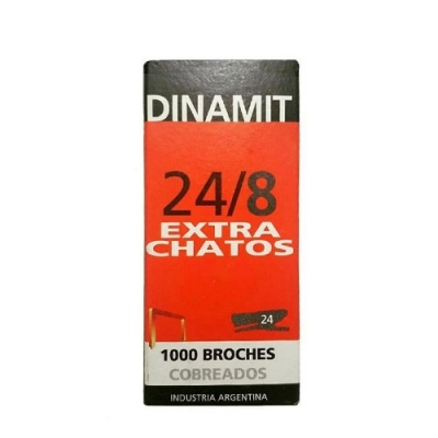 Broche Dinamit 24/8 E/chato X1000
