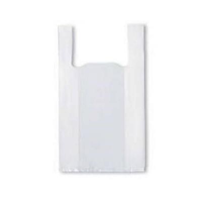 Bolsa Camiseta Blanca Alta Densidad (fina) 30x40 X100