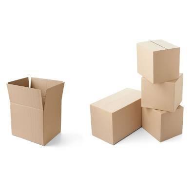 Caja Carton 20x20x20 Largo/alto/ancho