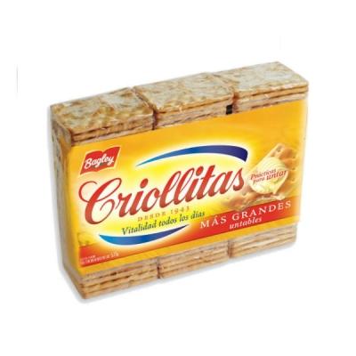Galletita Criollitas X 3u X 300g