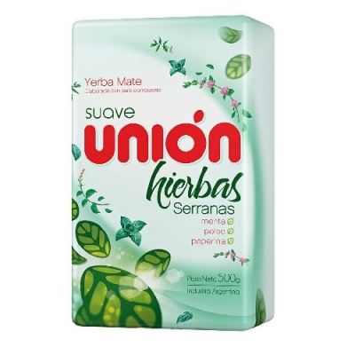 Yerba Union Hierbas Serranas X 500